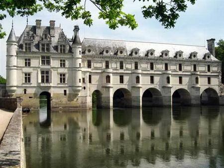 Lâu đài Chateau Chenonceaux.