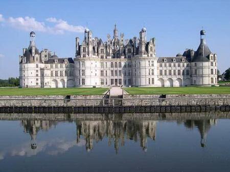 Lâu đài Chateau de Chambord.