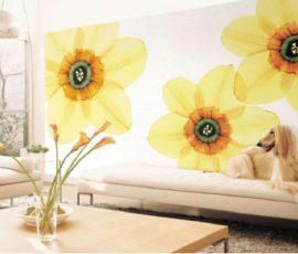 Trang trí nội thất với hoa
