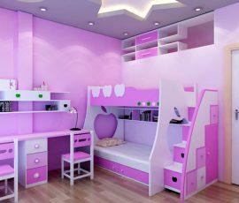 Hô biến căn phòng nhỏ trở nên rộng rãi hơn nhờ thiết kế nội thất