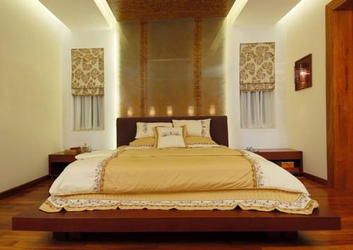 Phòng ngủ theo kiểu kiến trúc hiện đại