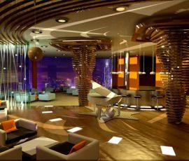Thiết kế nội thất bar - cafe