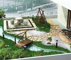 Thiết kế tiểu cảnh nhà phố