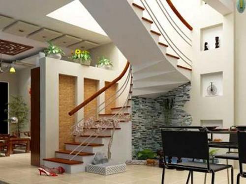 Thiết kế cầu thang nhà ống-3