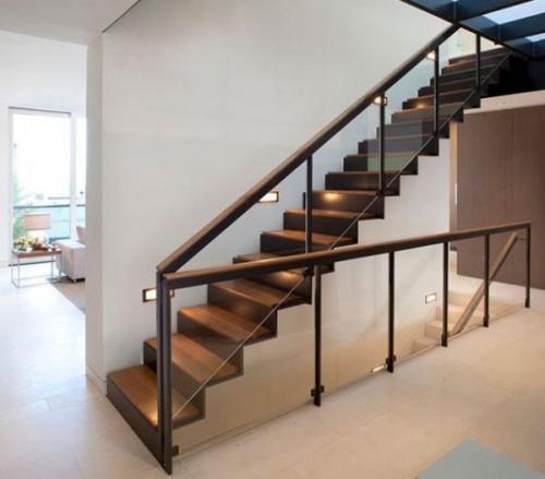 Thiết kế cầu thang nhà ống-2