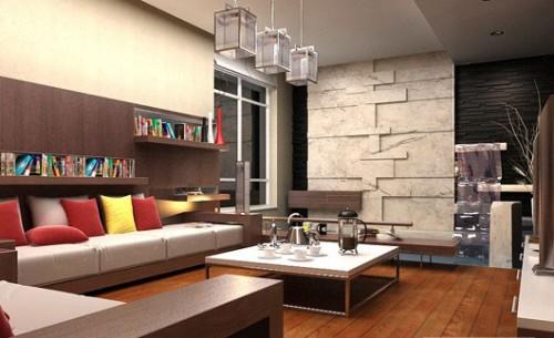 Thiết kế nhà ở theo phong cách hiện đại-1