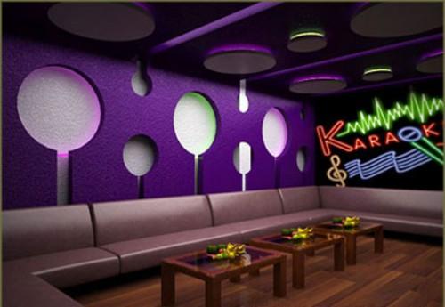 Thiết kế nội thất quán karaoke-1