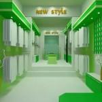 Thiết kế nội thất showroom hiện đại