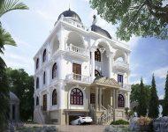 Thiết kế kiến trúc nhà ở theo phong cách tân cổ điển