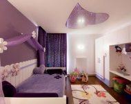 Lãng mạn với phòng ngủ màu tím