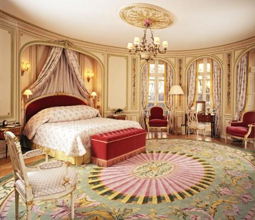Phòng ngủ theo phong cách hoàng gia